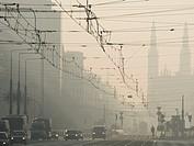 Warsaw, Poland, Tram system web