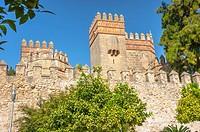 San Marcos Castle in El Puerto de Santa Maria, province of Cádiz, Andalusia, Spain.