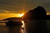 Pak Meng Port, Trang Province, Thailand.