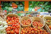 tomate de Ramallet mallorquin, Agromart , Porreres, Mallorca, balearic islands, spain, europe.