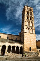 Bell tower of the Romanesque church of San Esteban - XIII Century - Segovia - Castilla-León - Spain - Europe.