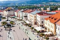 SNP Square, Banska Bystrica, Slovakia.
