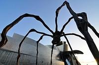Spider.Guggenheim Museum by Frank O. Gehry.Bilbao city.Bizkaia province.Euskadi.País Vasco.Spain