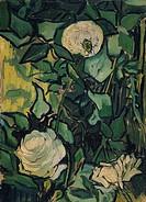 Vincent van Gogh - Roses - Van Gogh Museum, Amsterdam.