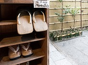 zori japanese sandals in This traditional Buddhist Temple, or Shukubo in Japanese, is located near the Mount Koya cable car station. Rengejo-in has in...
