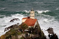 Lighthouse Cudillero, Asturias Spain