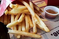 McDonalds fries and sauce usa.