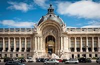 Petit Palais facade, Paris.