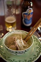 vietnamese soup pho bowl Vietnam.
