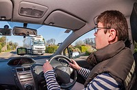 17 year old boy learning to drive in the Uk.