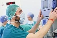 Surgery, Operating room, Hospital, Spain