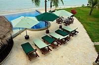 Sara Beach Resort, Baangsan Pathiu, Chumpon Province, Thailand.