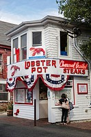 Lobster Pot restaurant Cape Cod Provincetown MA USA Massachussets.