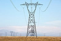 Transmission Towers carry high voltage electricity across great distances.