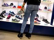 Shoe shop, New York City