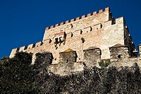 Castle of Henry II of Trastámara, now a Parador Nacional (State-run hotel). Salamanca, Castile-Leon, Spain.