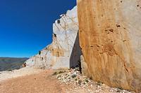 Marble quarry near Macael. Cóbdar, Almería. Spain.