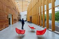 Hall, Carlos Santa Maria Center, Gipuzkoa Campus Library, UPV, EHU, Basque Country University, Donostia, San Sebastian, Gipuzkoa, Spain, Europe