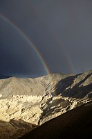 Alrededores de Lamayuru Monastery, Lamayuru, Ladakh, India.