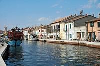 Leonardesque Canal Harbour's, Cesenatico, Emilia Romagna, Italy
