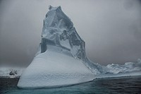 An amazing iceberg, at the Iceberg Alley- Pleneau Island.