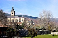 Monastery of El Paular, Rascafria, Madrid, Spain.