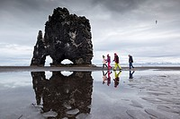 Hvitserkur Rock. Hvammstangi. Iceland.