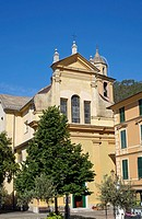 Church of St. Catherine (Santa Caterina d´Alessandria) in Bonassola, Liguria, Italy