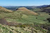 Col Morvand, Puy de dôme, Massif Central, Auvergne, France , Europe.