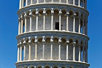 The Leaning Tower of Pisa, Piazza dei Miracoli, Pisa, Tuscany, Italy