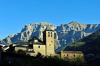 Torla town. Aragonese Pyrenees, Huesca province, Spain