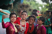 Bangladeshi tribal people are celebrated the World´s Indigenous day in Bangladesh on 9th Aug, 2017, held to celebrate United Nations´ (UN) Internation...