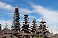 The Mother Temple of Besakih, or Pura Besakih, Bali, Indonesia.