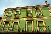 old inn building, Sarria de Ter, Girona, Catalonia, Spain
