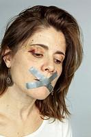Battered girl, Spain