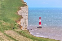 Beachy Head, Seven Sisters, South Downs, East Sussex, England, UK.