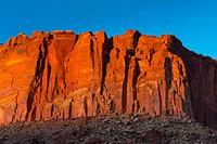 Capitol Reef National Park, Utah State Route 24, Utah, Usa, North America, America.