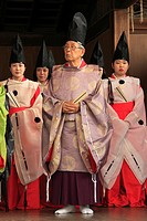 Japan, Kyoto, Gion Matsuri, festival, traditional performance, people,.