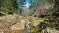 The Ravine of Montesinos. Alto tajo Natural Park. Cobeta town, Guadalajara province, Spain
