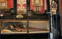 Sacro Monte di Varese (Sacred Mount of Varese), Santuario Santa Maria del Monte, Chapel of the Blessed Caterina (Catherine) and Giuliana (Julianne), r...