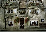 The Bridge Tea Rooms in Bradford on Avon in Wiltshire in England in Great Britain in the United Kingdom.