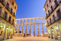 Aqueduct of Segovia, Spain.