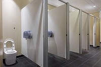 Toilet public at Heathrow airport London
