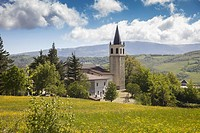 Italy, Emilia Romagna, mountain, Trasserra village.