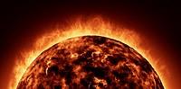 The Sun animation closeup.