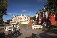 View to the Palace in Kadriorg Park, Tallinn, Estonia, Baltic States, Europe.