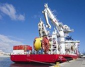 Lewek Connector, one of the largest and most advanced subsea installation and construction vessels in the world. The Lewek Connector is one of the lar...
