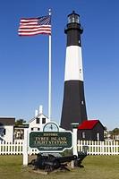 Tybee Island Lighthouse, Tybee Island, Georgia.
