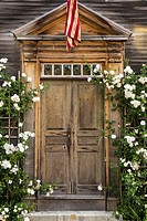 Old Door in Portsmouth, New Hampshire.