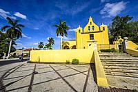 Ermita de Santa Isabel, Colonial church in Merida, Yucatan (Mexico, Central America).